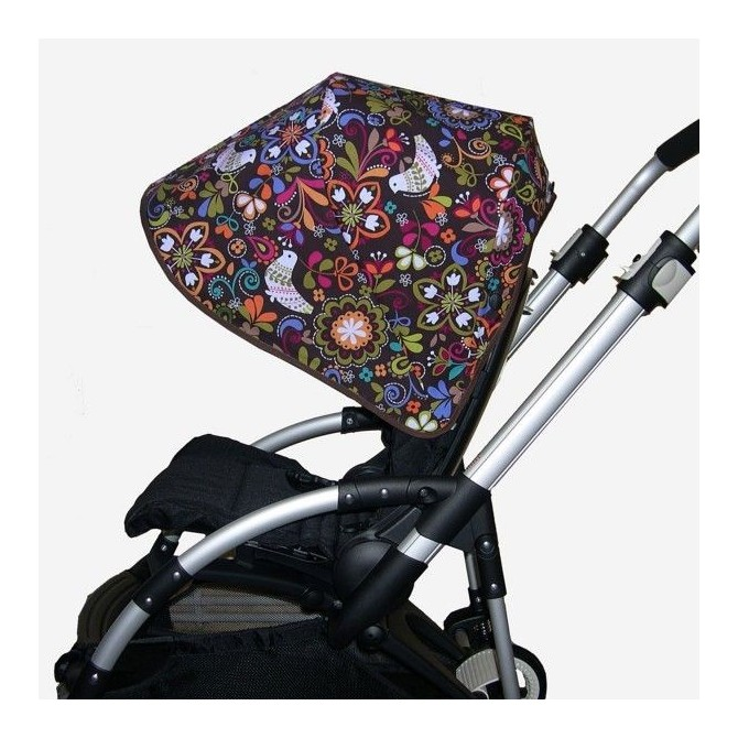 Custom Canopy Bugaboo Bee2 & Design your own Bugaboo Bee + canopy. Hand made in Spain byTeoyleo
