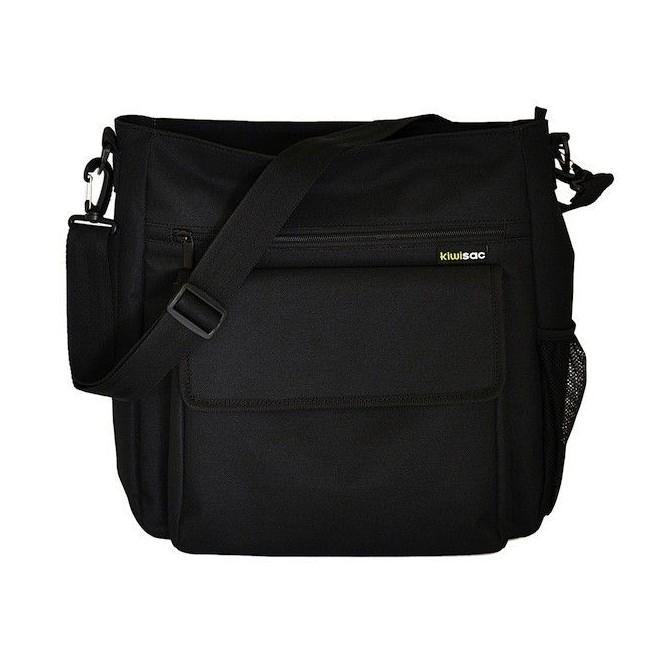 Eliot negro liso - bolso masculino
