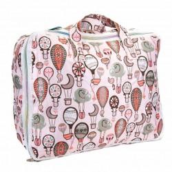 Set maleta globos rosa Mybags