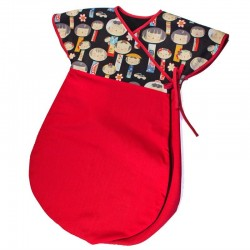 Saco Kimono Japoneses rojo