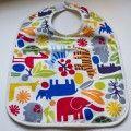 Babero bebé zoo primary