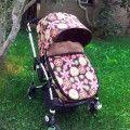 Design your baby Winter stroller footmuff