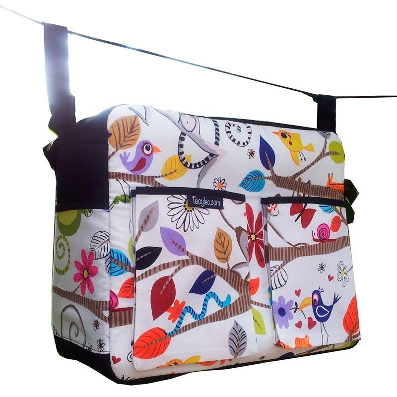 siesta animal diaper bag is roomy with lots of storage and pockets. Black Bedroom Furniture Sets. Home Design Ideas