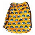 Backpack retro car