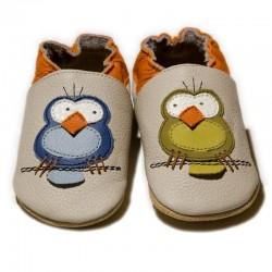 zapatos bebe de piel