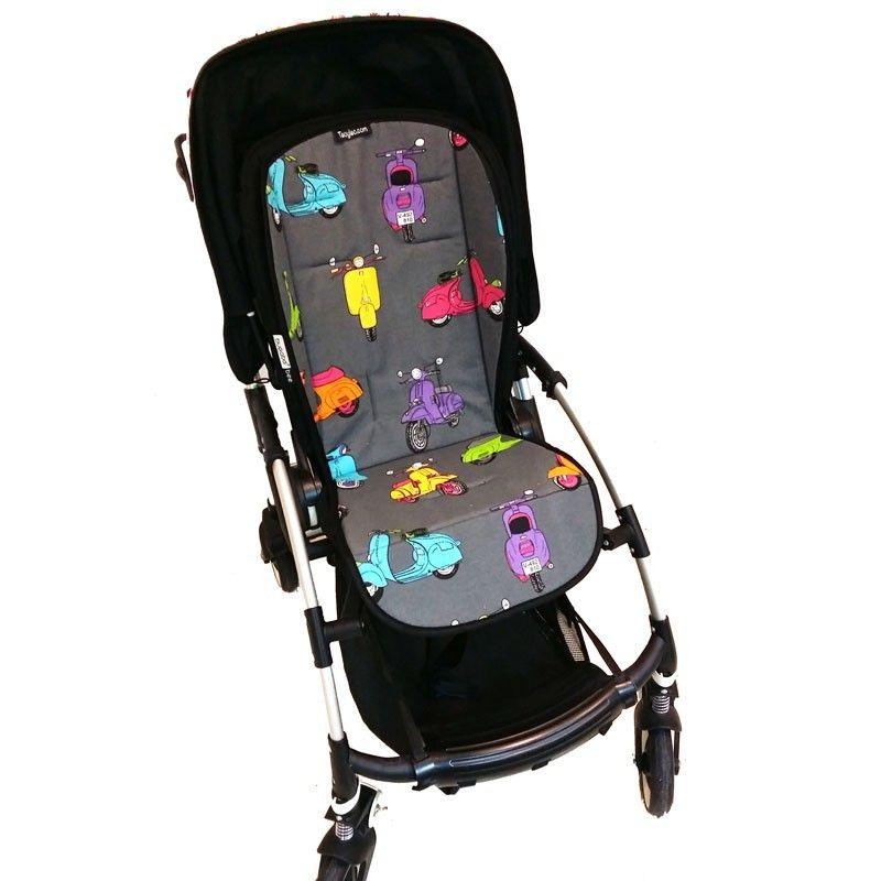 Colchoneta universal para silla de paseo con dibujos de for Mclaren carro de paseo