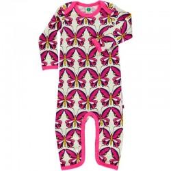 Combinaison pour bébé laine Papillon