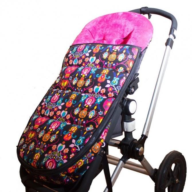 Calaveras infantiles saco para silla bugaboo - Sacos silla bebe invierno ...