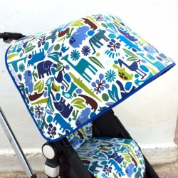 Capota Bugaboo Camaleon Zoo Azul