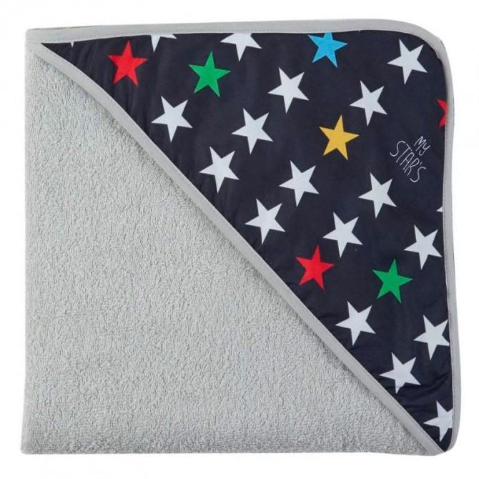 Capa baño bebé estrellas Mybags