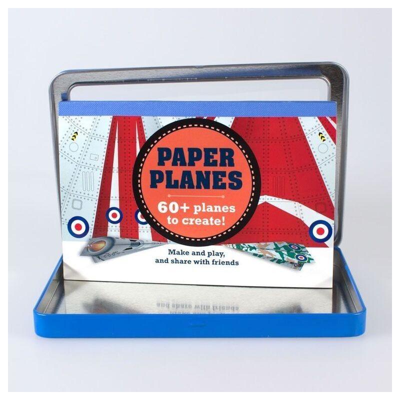 gallery of juguete para nios lata aviones de papel