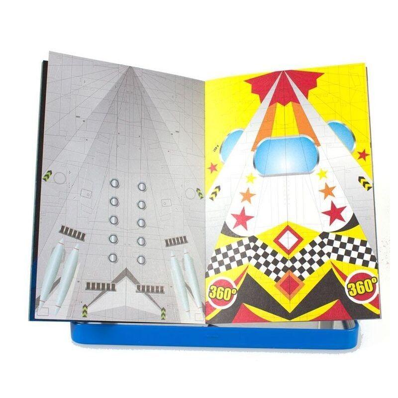 juguete para nios lata aviones de papel