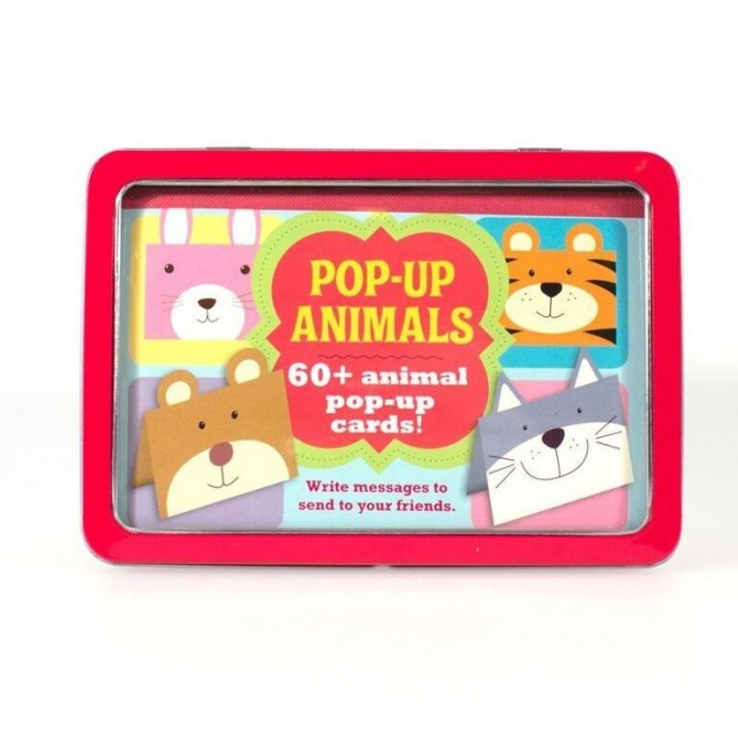Pop-up animals box