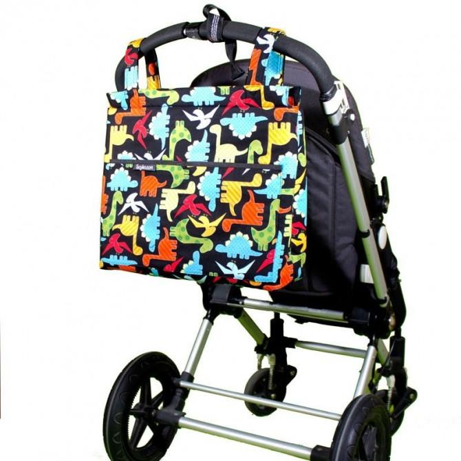 Bolso carrito bebé Dinosaurios
