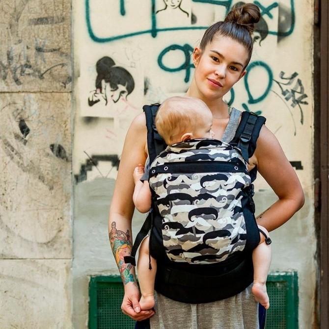 Soft baby carrier Skully Liliputi