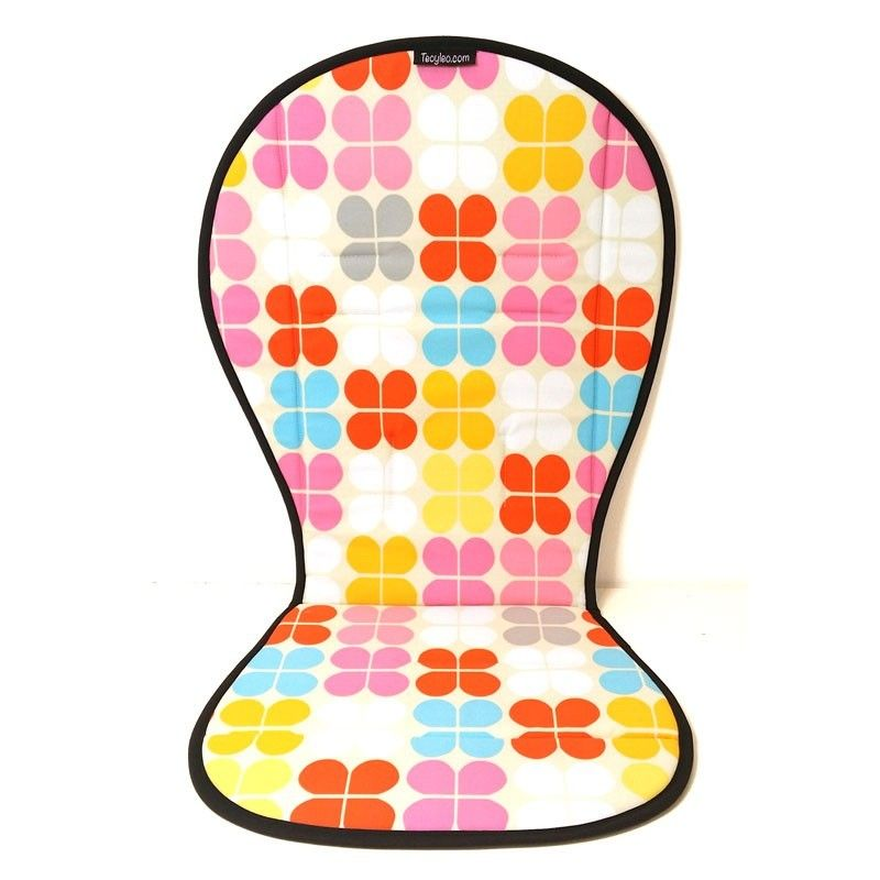 Colchoneta silla paseo universal petalos pop estampado - Colchoneta silla paseo universal ...