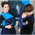 Stretchy baby wrap Deep blue by liliputi