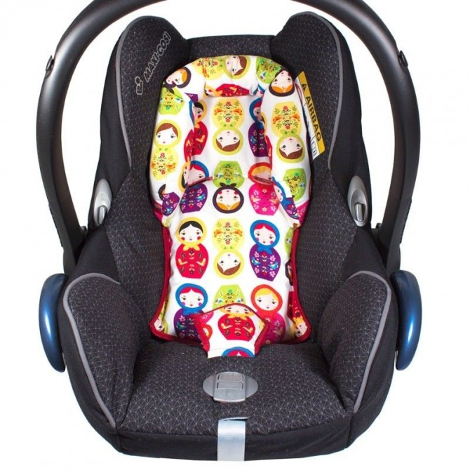 Reductor maxi cosi bebé - elige el estampado