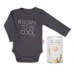 Baby Bodysuit Borntobecool by Mybags
