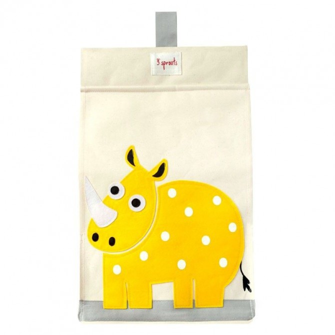 Diaper Stacker yellow Rhino