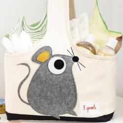 Bolsa de pañales ratón