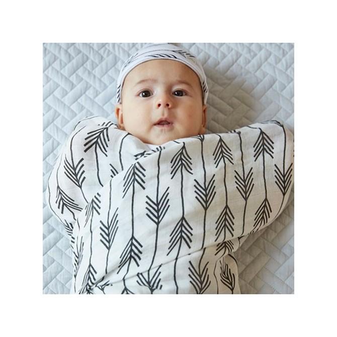 Muselina de bambú Flechas bebé