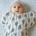 Bamboo swaddle wrap arrows