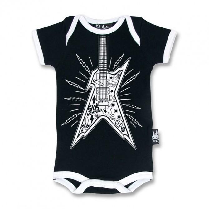 Body bebe guitarra rock