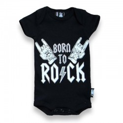"Body bebé ""born to rock"""