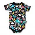 Retro Unicors baby gift set