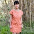 Vestido de lactancia Indri Coral