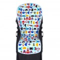 Padded seat liner for Bugaboo Donkey - Super Boys Azul