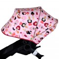 Extendable canopy for Bugaboo Donkey - choose the fabric