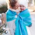 Baby ring sling Larimar