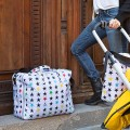 Baby suitcase Stars on white by Mybags