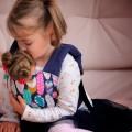 Porte poupée jouet des Plumes