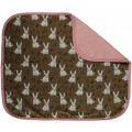 Baby blanket rabbits by Maxomorra