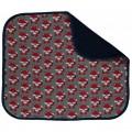 Couverture en coton bio des renards par Maxomorra