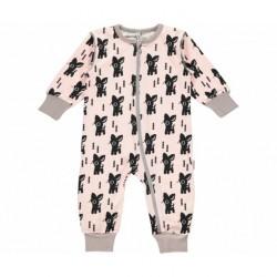 Combinaison a cotton bio por bébé Bambi