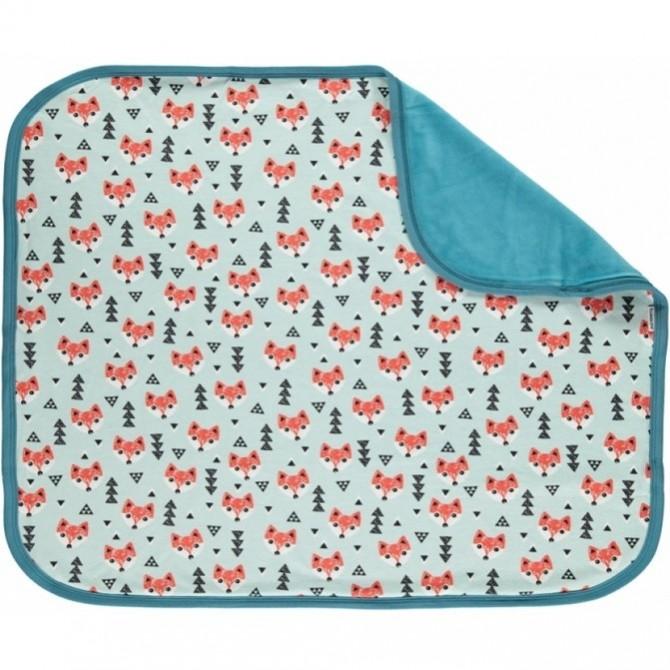 Baby Blanket Fox by maxomorra