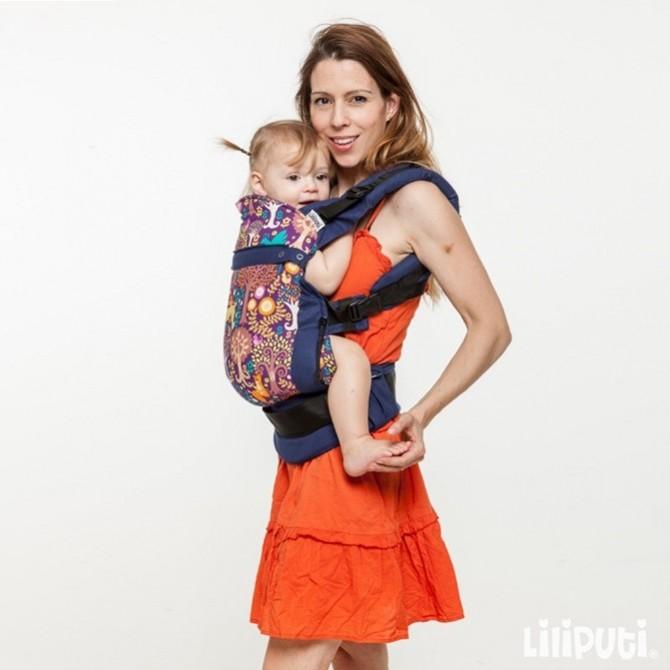 Porte bébé physiologique Rosie