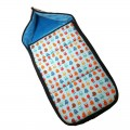 Winter Carrycot footmuff - turquoise monsters