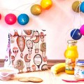 Snack bag pink balloon by mybags