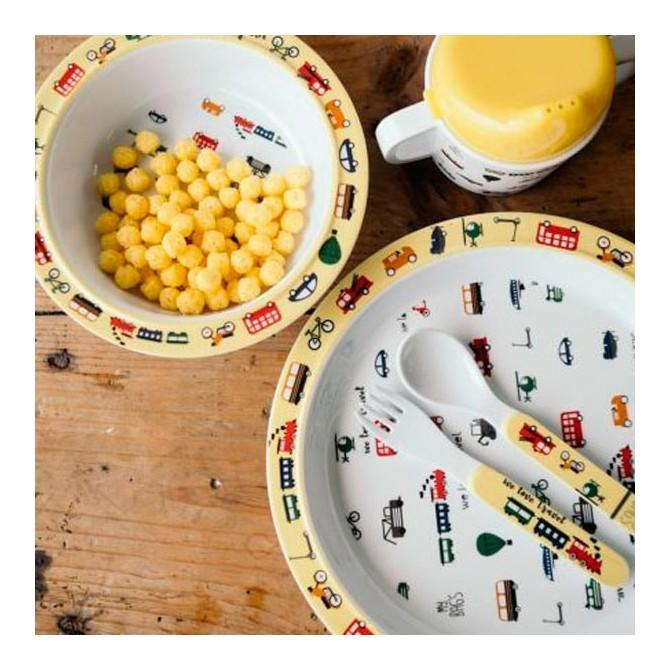 Set vaisselle We love travel par Mybags