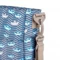 Bolso silla de paseo trendy Barquitos detalle