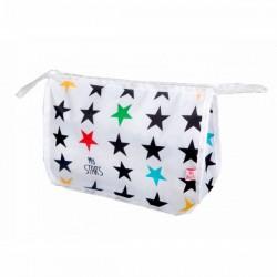 Neceser bebé estrellas sobre blanco de Mybags