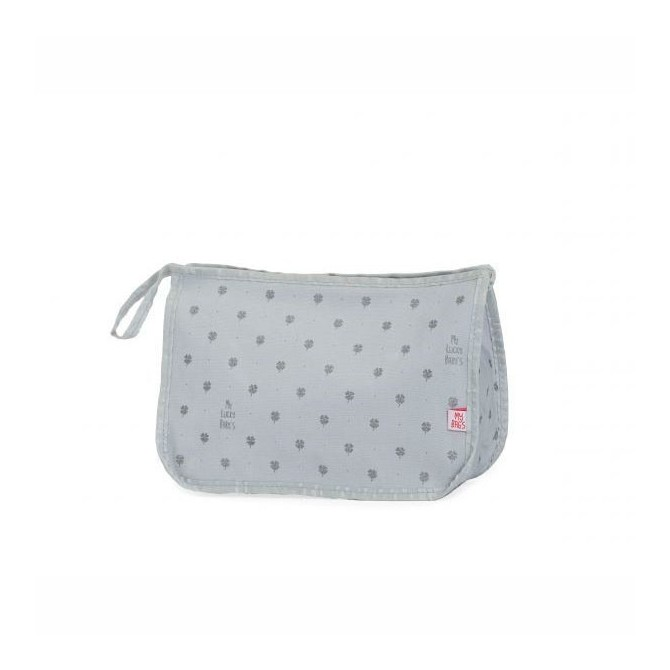 Baby vanity bag My Lucky silver Mybags