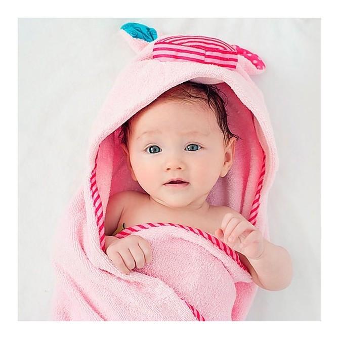 Capa Baño bebé Cerdito bebé