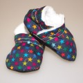 Baby booties for baby - stars