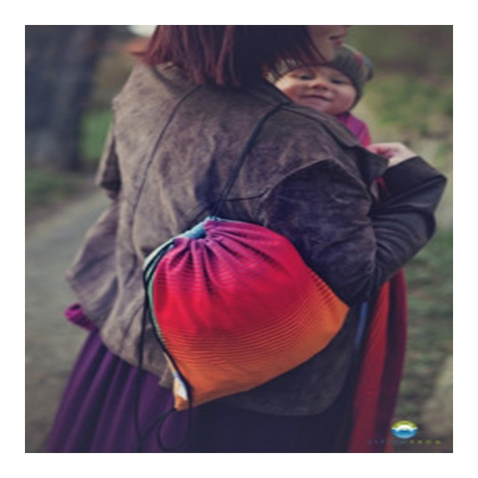 Bolsa porta fular ammolite In love bebe